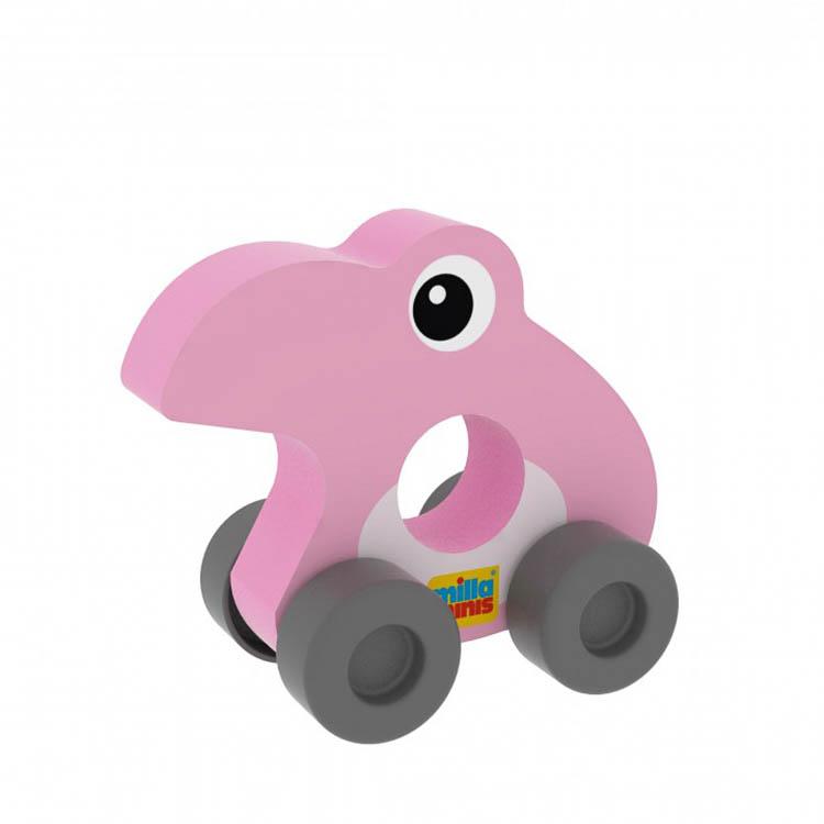 Az elsõ autóm - Flamingó (színes, rózsaszín)