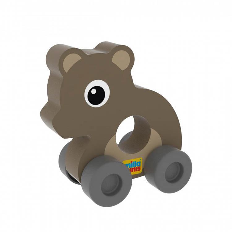 Az elsõ autóm - Maci (színes, barna)