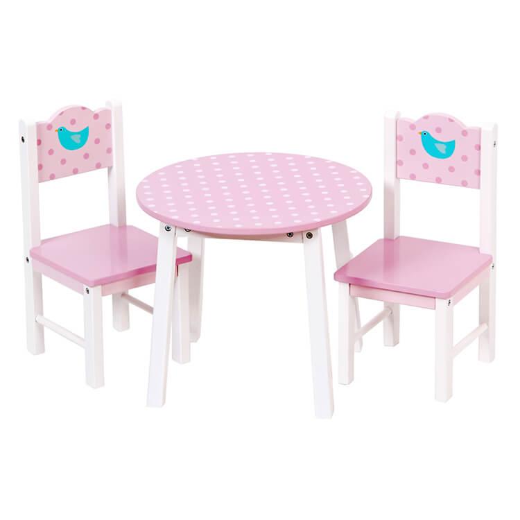 Játék asztal, 2 db székkel