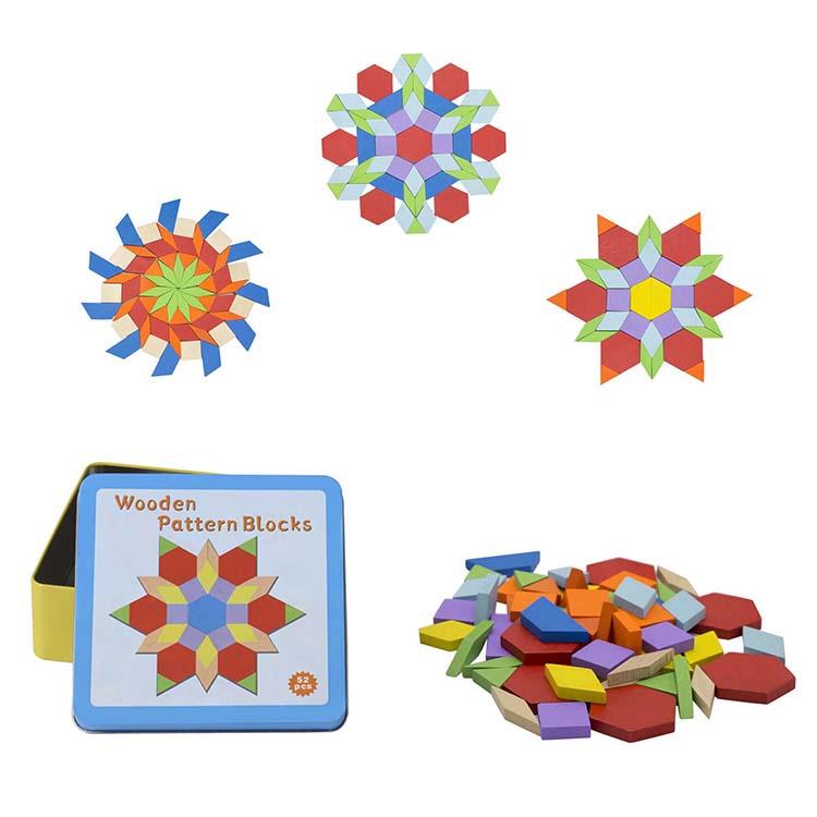 Mozaik készlet (mini, fém dobozban)