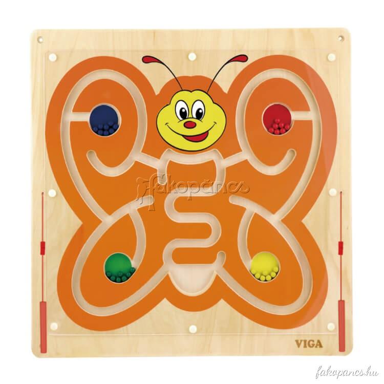 Falra szerelhetõ logikai játék (pillangós)