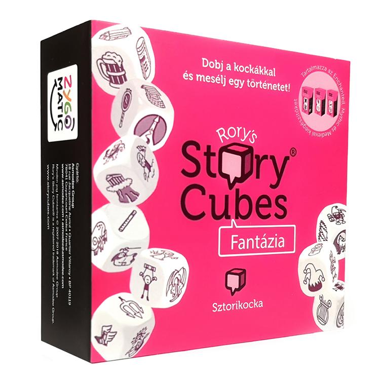 Story cubes (fantasy) - Sztorikocka (fantázia, pink)