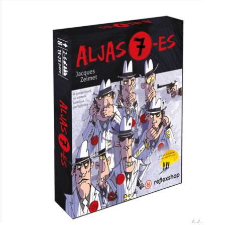 Aljas 7-es - Társasjáték