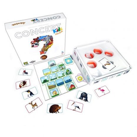 Concept Kids - Állatok Társasjáték