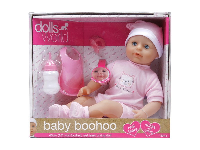 Baby Boohoo könnyezõ lány baba - 46 cm