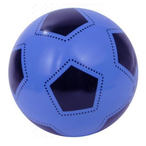 Labda (kék, focimintás, 23 cm)