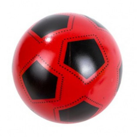 Labda (piros, focimintás, 23 cm)