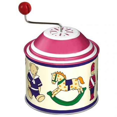 Zenélõ játék (babakocsi, maci, hintaló)
