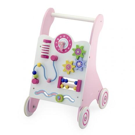 Járásfejlesztõ kocsi(pink)