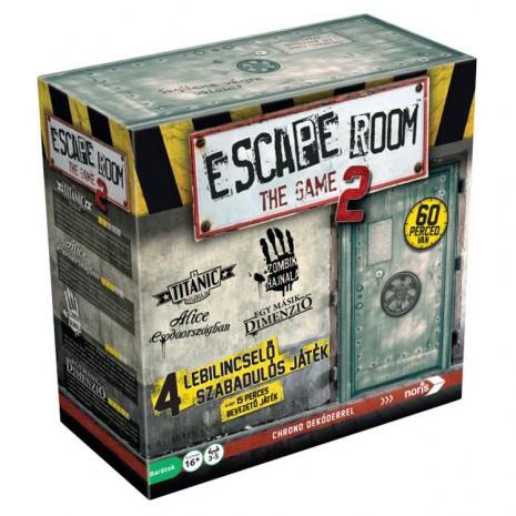 Escape Room The Game 2.0  társasjáték