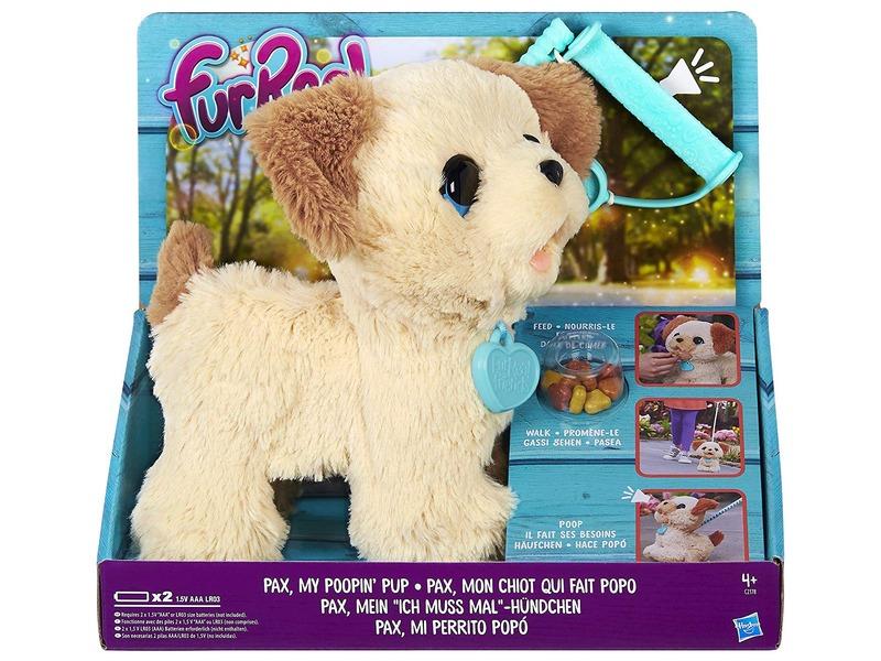 Pax az interaktív kutyus plüssfigura