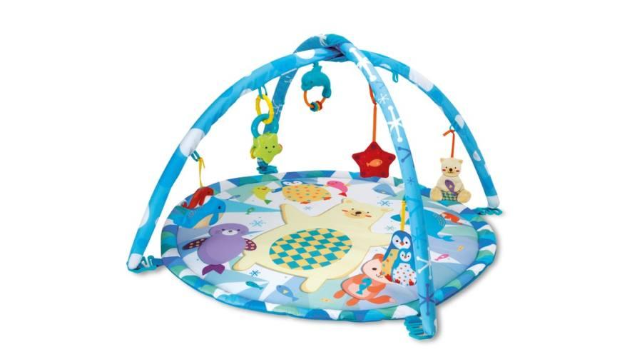 Sarkvidéki bébi játszószõnyeg kupolával